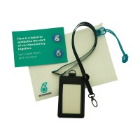 PETRONAS Corporate Lanyard Set with special pouch