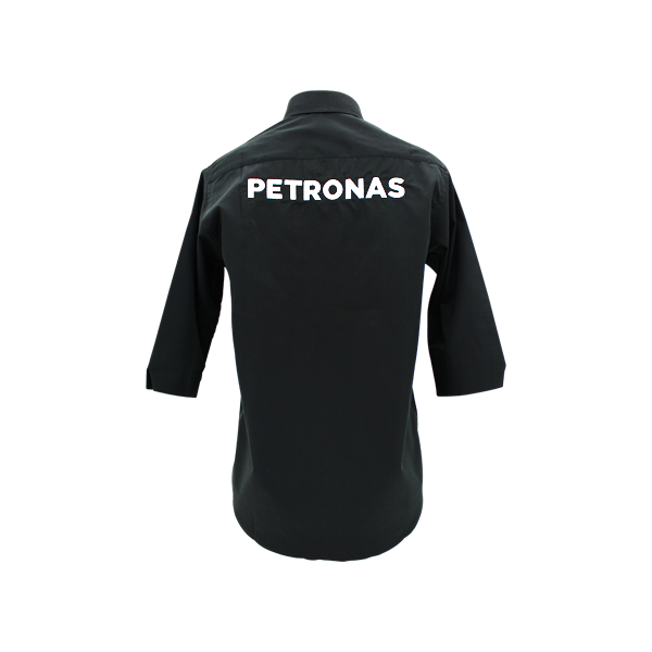 PETRONAS Corporate Black Working Shirt 3...