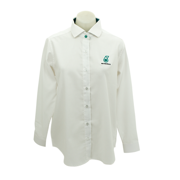 PETRONAS Corporate Shirt Long Sleeve (Fe...