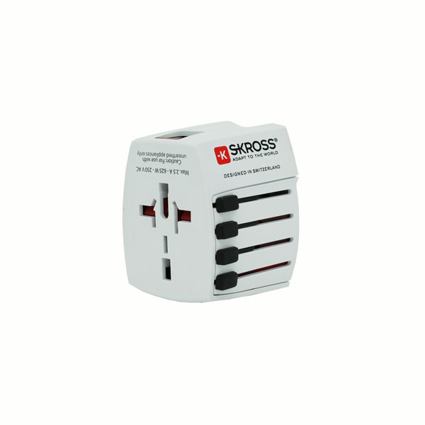 Travel Adaptor (Brand: SKROSS MUV USB)