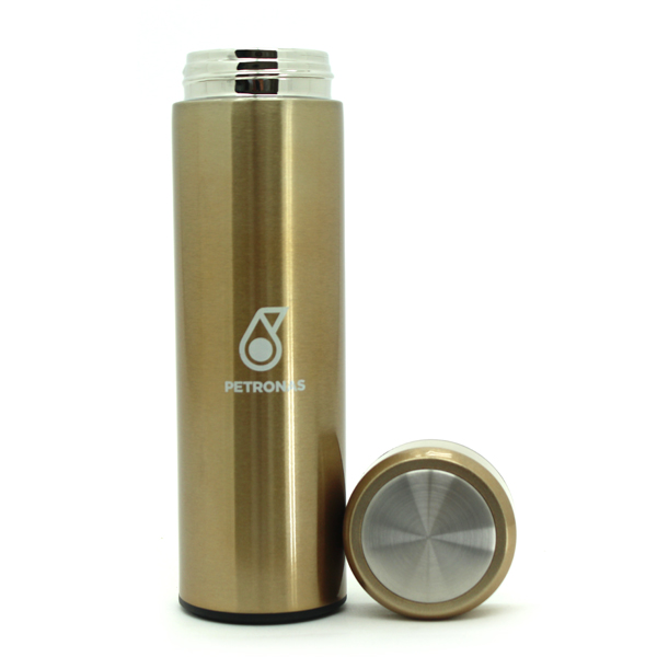 Water Bottle-PETRONAS Tumbler (Gold)