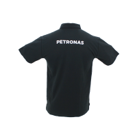 PETRONAS Corporate Polo T-Shirt Short Sleeve Black