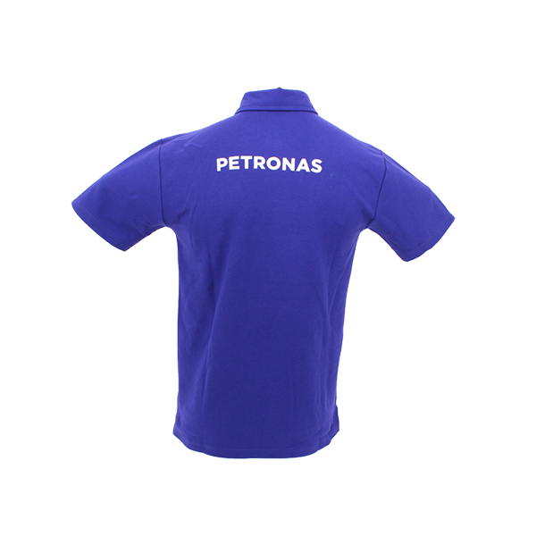 PETRONAS Corporate Polo T-Shirt Short Sleeve Blue