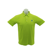 PETRONAS Corporate Polo T-Shirt Short Sleeve Lime Green