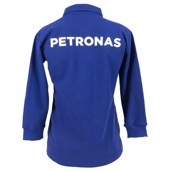PETRONAS Corporate Polo T-Shirt Long Sleeve Blue (Men)
