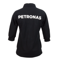 PETRONAS Corporate Polo T-Shirt 3/4 Sleeve Black (Women)