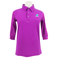 PETRONAS Corporate Polo T-Shirt 3/4 Sleeve Purple (Women)