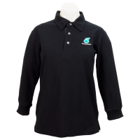 PETRONAS Corporate Polo T-Shirt Long Sleeve Black