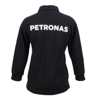 PETRONAS Corporate Polo T-Shirt Long Sleeve Black (Women)
