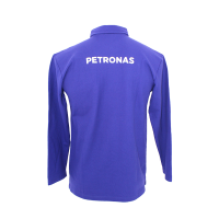 PETRONAS Corporate Polo T-Shirt Long Sleeve Blue
