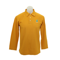 PETRONAS Corporate Polo T-Shirt Long Sleeve Yellow