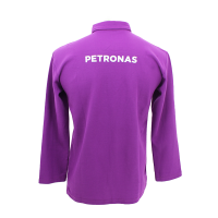 PETRONAS Corporate Polo T-Shirt Long Sleeve Purple